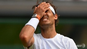 Decline and fall as Nadal crashes to new Wimbledon low