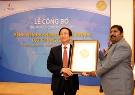 Vinmec becomes first JCI-accredited general hospital