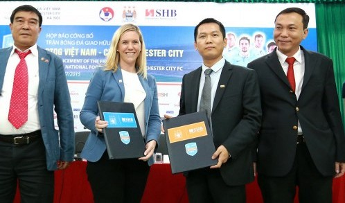 Tickets for Man City-Vietnam match not yet a 'hot cake' as expected