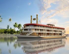 Vietnam builds luxury cruise for Myanmar