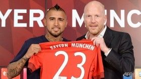 Bayern Munich confirm Vidal switch from Juventus