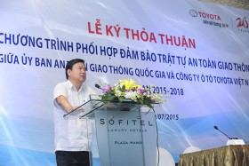 Toyota increases support to enhance transport safety in Vietnam