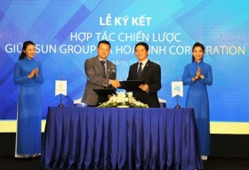 sungroup hoa binh corp inks strategic co operation agreement