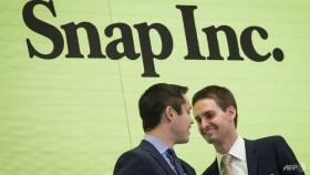 Snapchat parent Snap slides below IPO price