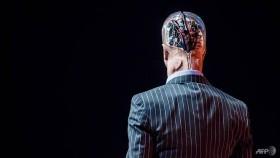 Robots debate future of humans at Hong Kong tech show