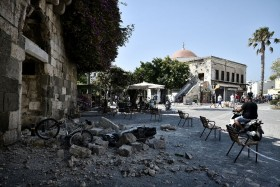 Quake kills two tourists on Greek holiday island