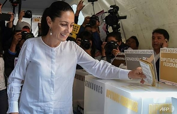 first woman elected mexico city mayor exit polls