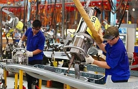 industrial production up 105pc in six months