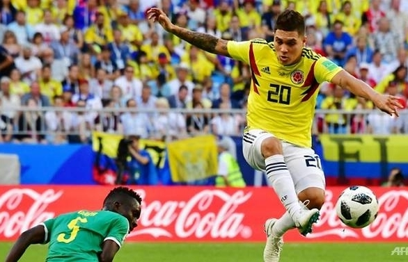 world cup enigmatic quintero steps up for colombia as james doubts persist
