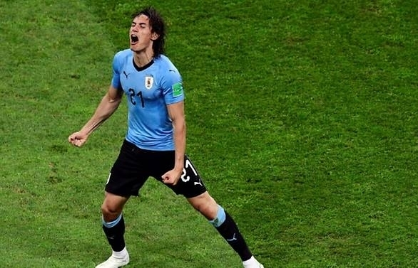 world cup uruguays cavani unlikely to face france in quarter final