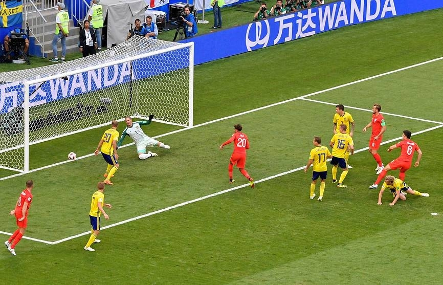 england sink sweden to clinch world cup semi final berth