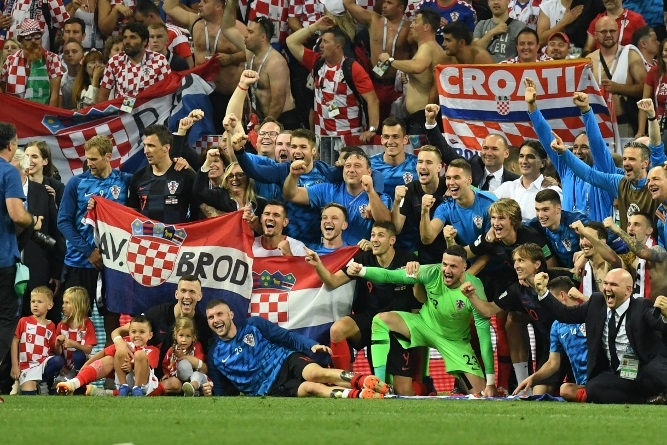 world cup croatia reach first final as england pain goes on