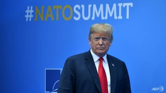 trump merkel clash at nato summit