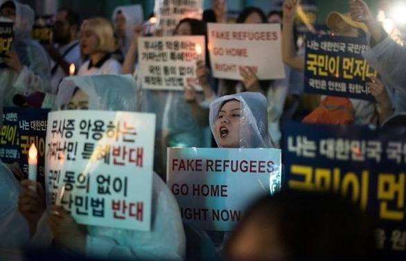 yemeni asylum seekers spark backlash in south korea