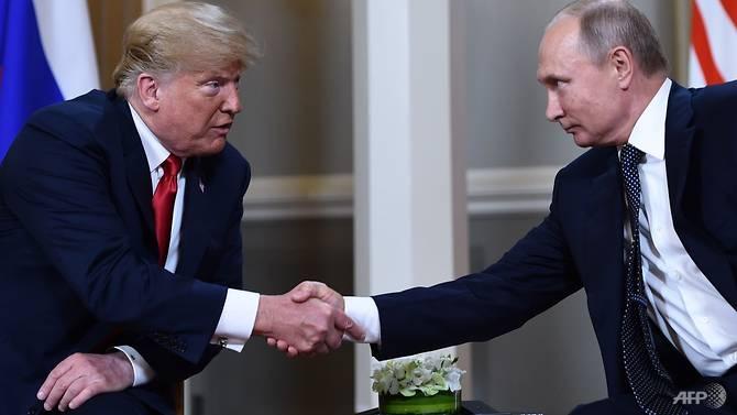 at historic summit trump refuses to confront putin on vote row