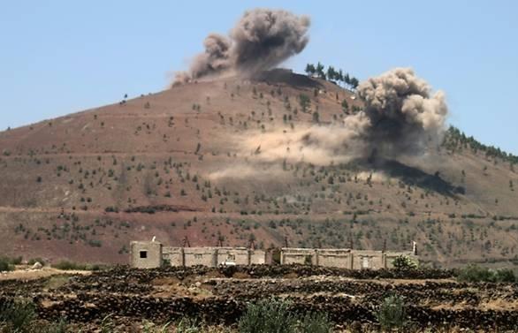 air strikes kill 15 civilians in southern syria monitor