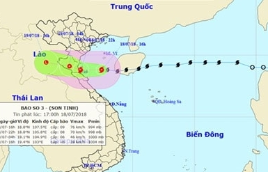 provinces brace as son tinh makes landfall