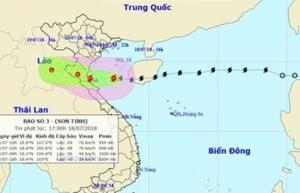 provinces brace as son tinh makes landfall