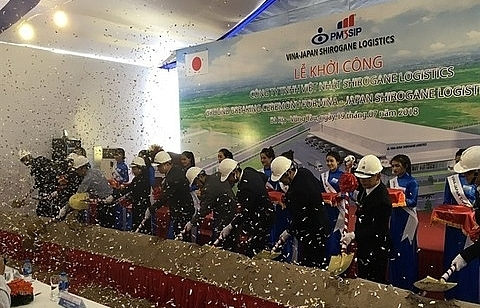 vietnam japan joint venture builds logistics centre in ba ria vung tau