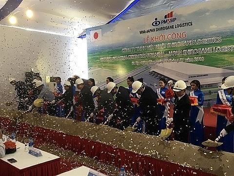 vietnam japan joint venture builds logistics centre in ba ria vung tau