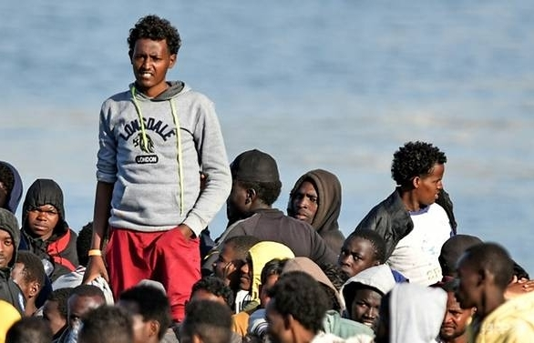 eu migrant policy suffers blow as italy libya reject proposals