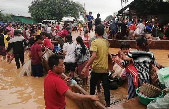 laos pm says 131 missing from dam collapse as 26 bodies recovered