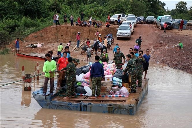 a close look at dam collapse incident in laos