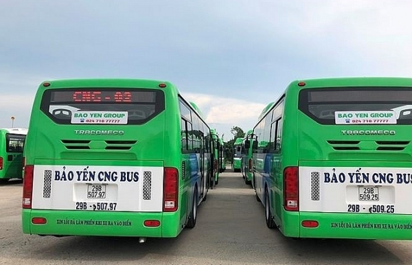 eco friendly bus to start running in in hanoi