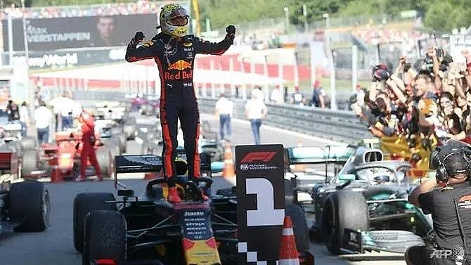 verstappen retains austria win after stewards investigation