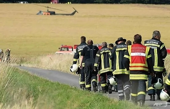second deadly german military air crash in a week