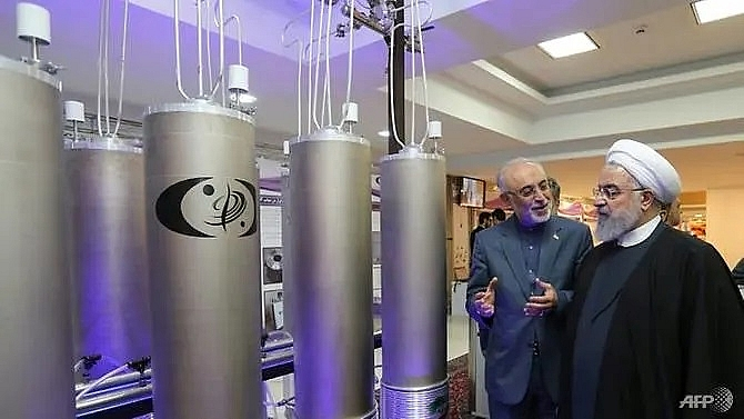 iran playing with fire after nuclear deal limit breached trump