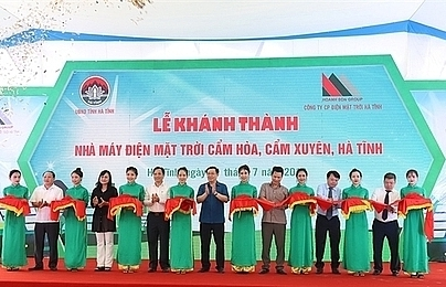63 million solar power plant opens in ha tinh