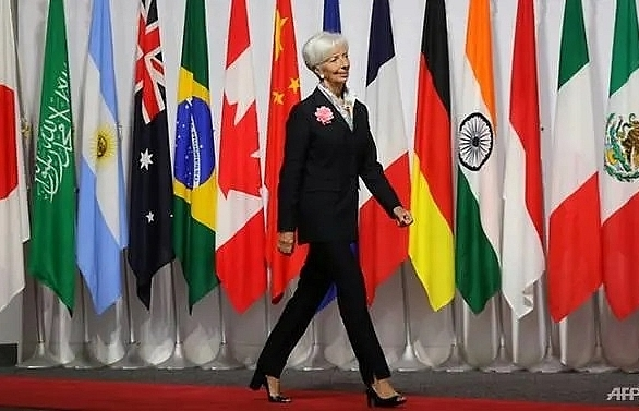 imf forced into leadership search early by christine lagarde exit