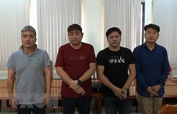 korean led illegal poker gambling house bust in hcm city