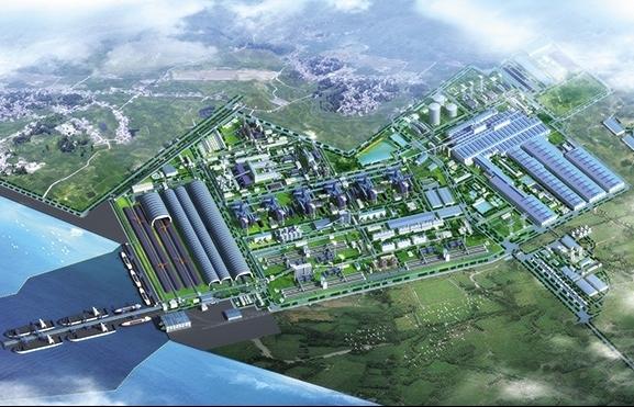 new steel complex levels up hoa phat