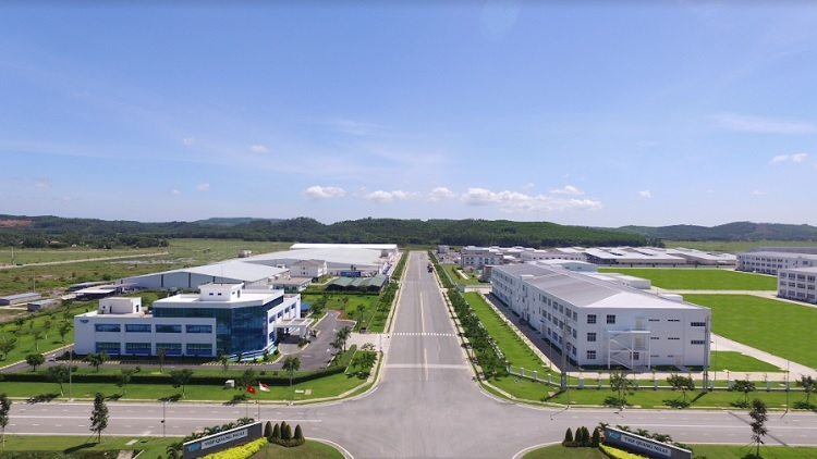vsip quang ngai makes great strides during five years of development
