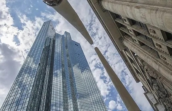 dismissed deutsche bank staff head out as overhaul bites