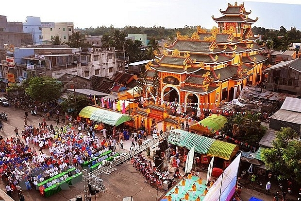 week of culture and tourism kicks off in dong thap