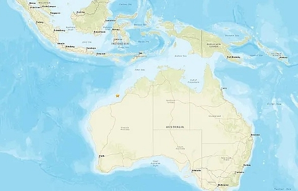 quake of magnitude 66 strikes west of australias broome usgs