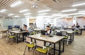 hcm city co working office space market developing strongly