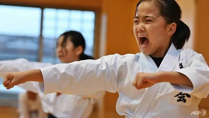 Tokyo 2020 comes too early for karate kid
