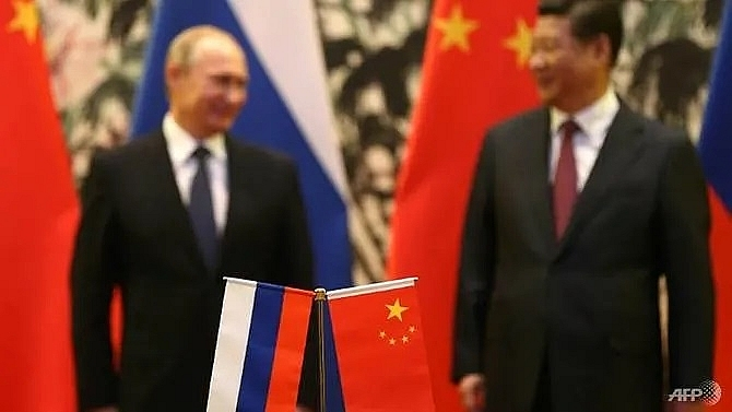 china russia joint exercise sends a message to washington analysts