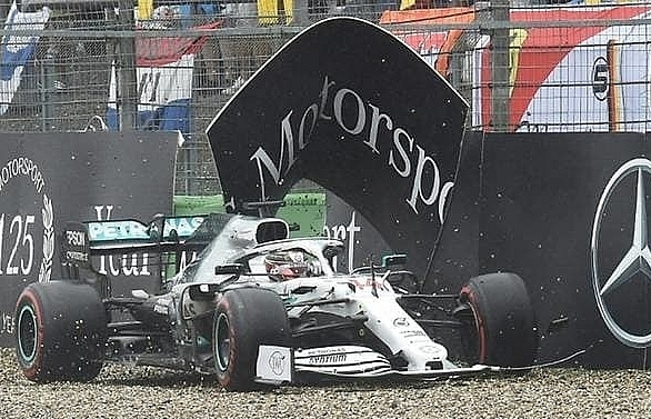 it was karma mercedes boss rages after german gp flop