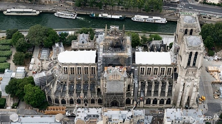 french ngo files lawsuit over lead risks from notre dame blaze