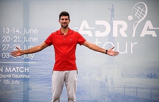 djokovic donates 40000 euros to serbian town hit hard by virus