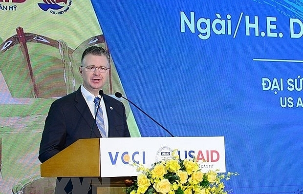us ambassador hails vietnam us cooperation over 25 years of relations