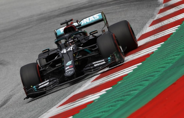 hamilton on top in austria as mercedes survive protest
