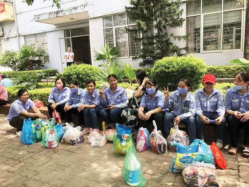 a helping hand extended for families hit most by outbreak