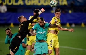barca wake from slumber to give glimmer of hope to setien