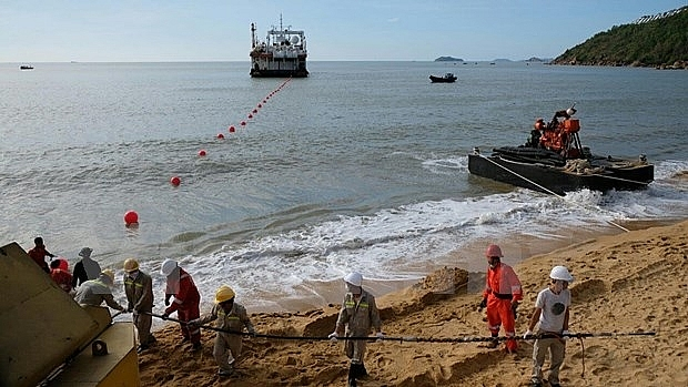 vnpt invested undersea cable connected to vietnam